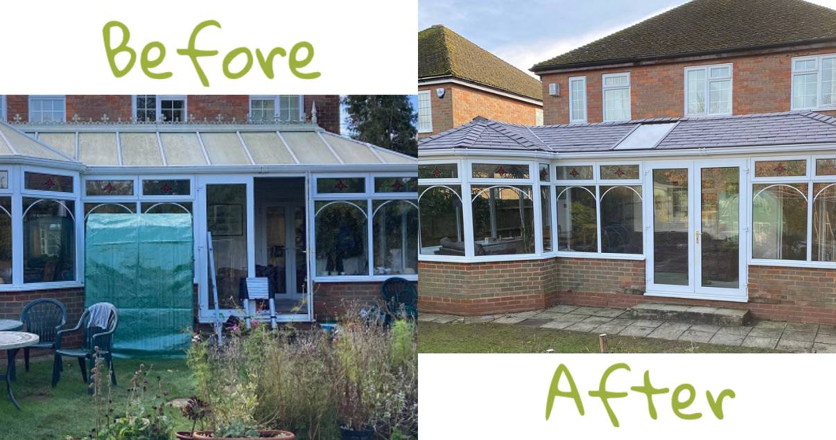conservatory room transformation in east anglia
